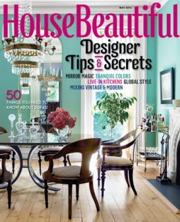 House Beautiful May 2013